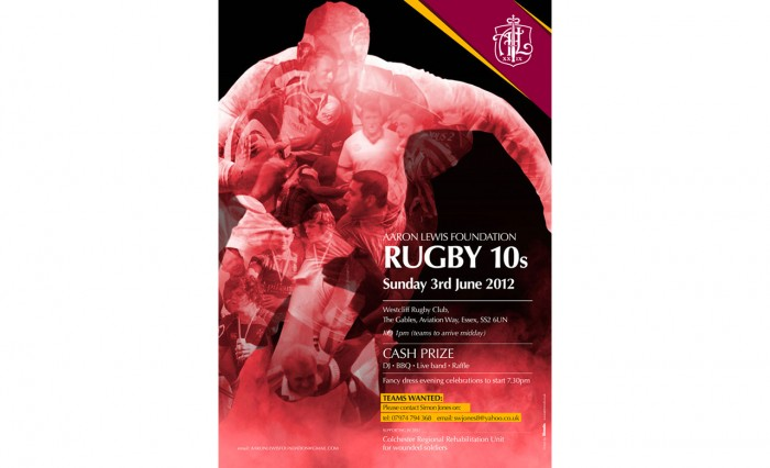 The Aaron Lewis Rugby Tens 2012 Image